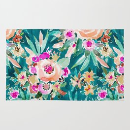 GOOD LIFE Colorful Floral Rug