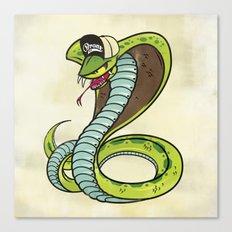 Bronx Zoo Cobra! Canvas Print