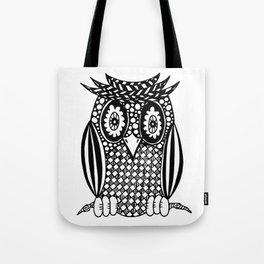 Hypnotise Owl Tote Bag