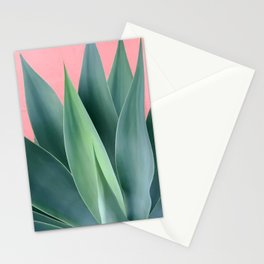 Agave succulent Stationery Cards