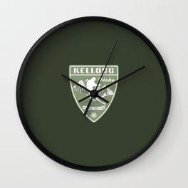Ski Kellogg Idaho Wall Clock