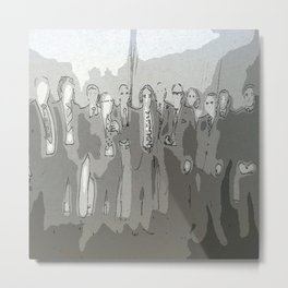 The Group Metal Print