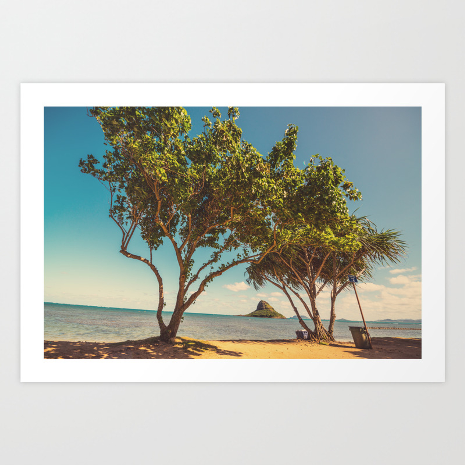 Hawaiian Landscape Art Print By Anouchka Society6