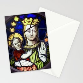 Madona and Child Stationery Cards