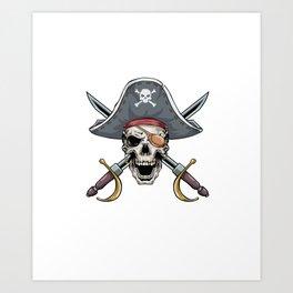 Captain Awesome Funny Bow Arrow Sport Hunter Art Print