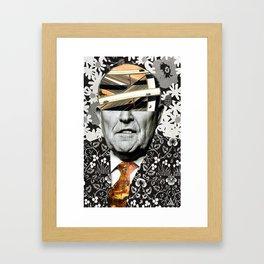 Secretary Of Offense Framed Art Print