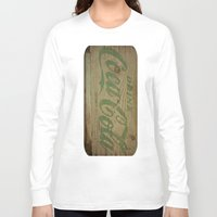 coca cola Long Sleeve T-shirts featuring Drink Coca Cola by Irène Sneddon