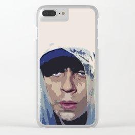 Benicio del Toro 44 Clear iPhone Case
