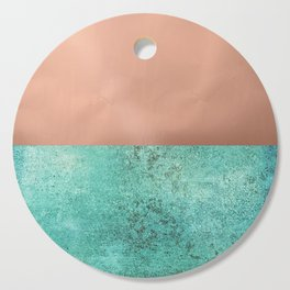 NEW EMOTIONS - ROSE & TEAL Cutting Board