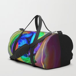 Abstract in perfection - Cube 5 Duffle Bag