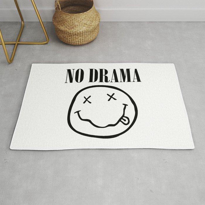 No Drama. Rug