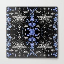Occult Beetles Metal Print
