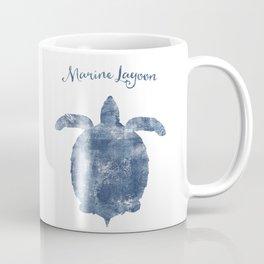 Turtle Marine Lagoon habitat Coffee Mug