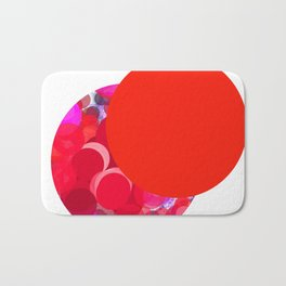 SexyPlexi dots  two love moons Bath Mat