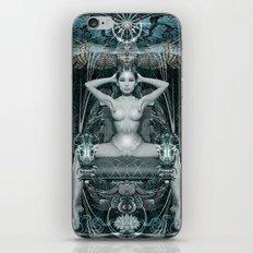 Triptych: Shakti - White Goddess iPhone & iPod Skin