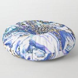 Blue Acid #society6 #buyart #decor Floor Pillow