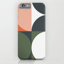 Mid Century Geometric 15 iPhone Case
