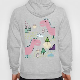 Cool T-rex Fun party pink #homedecor Hoody