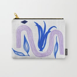 abstract tulip Carry-All Pouch