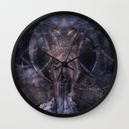 To Hell Wall Clock