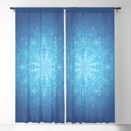 Enigma. Sacred geometry Blackout Curtain