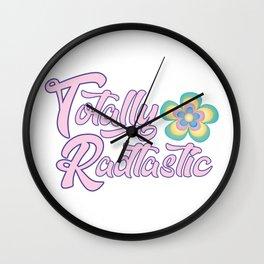Totally Radtastic Wall Clock