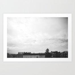 Parisian Skyline Art Print