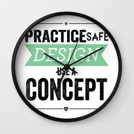 Use a Concept Wall Clock