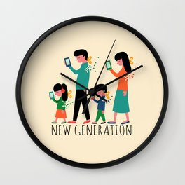 New Generation Wall Clock