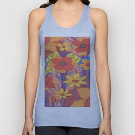 Sunshine and Wildflowers Unisex Tank Top