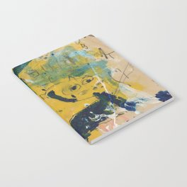 blue cat home Notebook