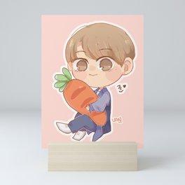 Carrot Jun Mini Art Print