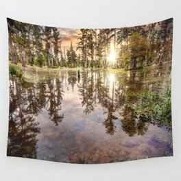 Swamp Shallows Wall Tapestry