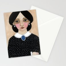 Miss Ruth, Victorian Lady Portrait Stationery Cards