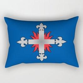 Three Musketeers Uniform Logo Rectangular Pillow