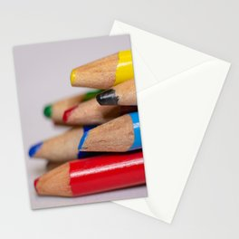 Pencils-3 Stationery Cards