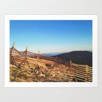 Mt. Ashland II Art Print