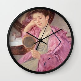 Mirror art - Mary Cassatt Wall Clock