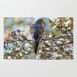 Christmas Dove Rug