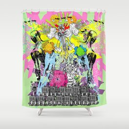 Jx3 Gallery - Promo 2016 Shower Curtain