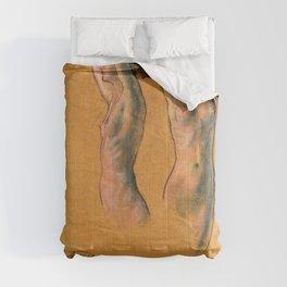 Nude Studies - Arthur Bowen Davies Comforters