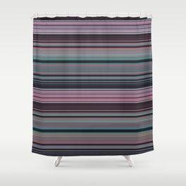 Fairy Floss Stripes Shower Curtain