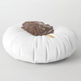 Because, Chocolate Floor Pillow