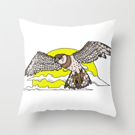 Broadwing  Throw Pillow