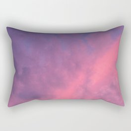 Color Bomb Sunset Rectangular Pillow