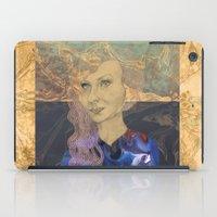 tina iPad Cases featuring Tina by Nina Schulze Illustration