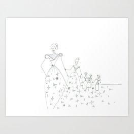 paper_6 Art Print