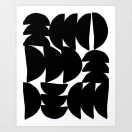 Minimalist Pattern #2 Art Print
