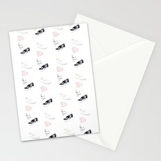 Sneakers pattern Stationery Cards