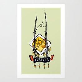 Tatoo. Forever Art Print
